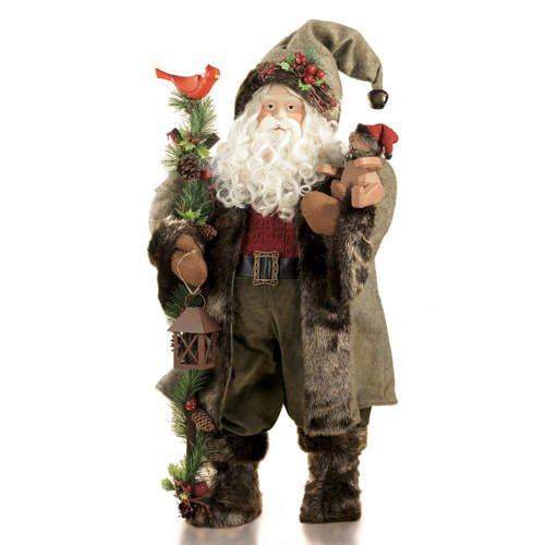 """34"""" Natural Santa Claus"""
