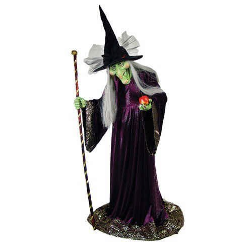 Lifesize Poseable Witch Halloween Character (5ft.)