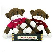 Cuddly Classic Sock Monkeys  ( 2 pk. )