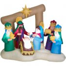 Holiday Airblown Inflatable - Christmas Nativity Scene