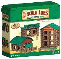 Lincoln Logs Boulder Creek Town Building Set