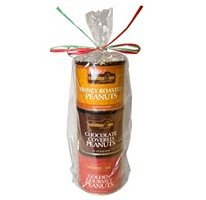 Carolina Nut Company Gourmet Peanut Gift Tower   (3 Pack)