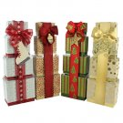 Christmas Holiday Chocolate Gift Towers  (3 Pack)