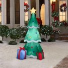 Christmas Holiday Airblown Inflatable - Lighted Christmas Tree with Presents