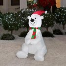 Christmas Airblown Inflatable - Holiday Polar Bear