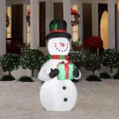 Holiday Inflatable Airblown - Christmas Snowman with Gift