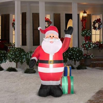 Christmas Holiday Airblown Inflatable - Santa with Presents