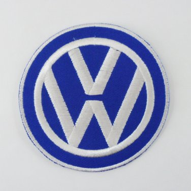 VOLKSWAGEN IRON ON PATCHES VW BUS VAN CAR EMBROIDERED MOTOR SPORT RIDER SEW FN