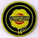 CHRYSLER IRON ON PATCHES EMBROIDERED RACING CAR SEW MOTOR SUV LOGO APPLIQUE FN