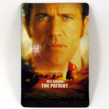 THE PATRIOT CALENDAR CARD 2001 MOVIE CINEMA MEL GIBSON FN