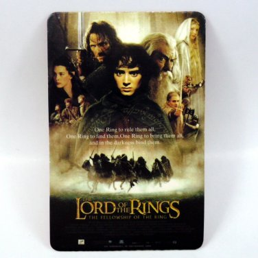 THE LORD OF THE RINGS CALENDAR CARD 2002 MOVIE CINEMA THE FELLOWSHIP FN