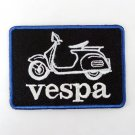 VESPA IRON ON PATCHES LOGO EMBROIDERED BIKE CLUB SEW JACKET HAT CAPT-SHIRT FN