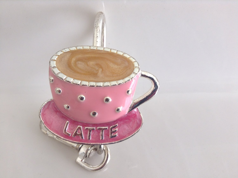 Latte Keychain Keyfinder