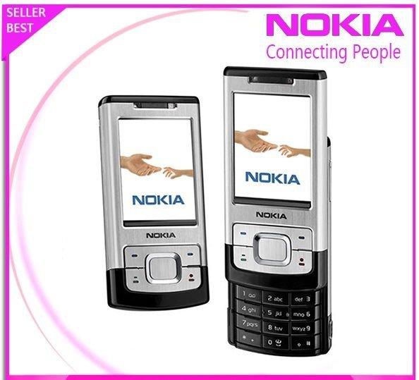 ORIGINAL Nokia 6500 Slide Black Silver 100% UNLOCKED GSM Cellular Phone 6500S 3G
