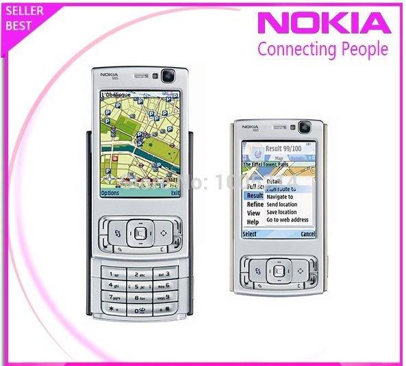 ORIGINAL Nokia N95 Black Silver 100% UNLOCKED GSM Smartphone N Warranty 2016 5MP
