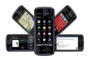 ORIGINAL Nokia XpressMusic 5800 Black UNLOCKED Smartphone GSM GPS WIFI FM 2015 5