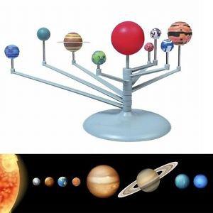 NEW 2015 Sunlight DIY Solar System Explore Planets Planetarium Toys Christmas EN