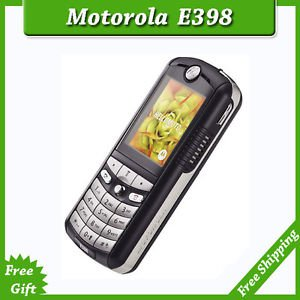 ORIGINAL Motorola E398 Black 100% UNLOCKED Cellular Phone GSM 2016 Warranty FREE