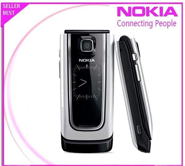 Original Nokia 6555 Silver 100% UNLOCKED GSM Cellular Phone 2016 Warranty FREE 9