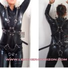 Leather Unisex Body Harness / Unisex arnés de cuerpo en cuero