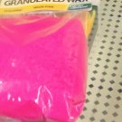 Granulated pink wax for candlemaking