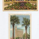 Postcard SAN ANTONIO TEXAS 1940s Medical Bldg Municipal Auditorium COLORTONE