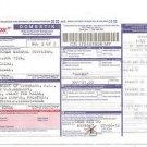 Pos MALAYSIA Parcel Consignment Note - Sarawak to Kuala Lumpur