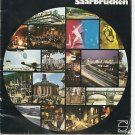 SAARBRUCKEN 1975 Official Tourism Brochure Saarland, Germany