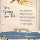 "OLDSMOBILE ""88"" HOLIDAY COUPE advertisement Fortune Magazine 1953"