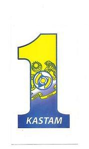 ROYAL MALAYSIAN CUSTOMS KASTAM Decal 1 Malaysia 2010