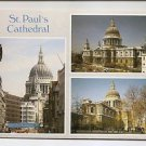 POSTCARD ST PAUL's CATHEDRAL - London England UK
