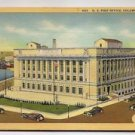 POSTCARD US Post Office Columbus Ohio constructed 1933  Curteich Artone Linen