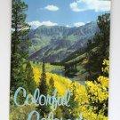 POSTCARD COLORFUL COLORADO USA  Aspen Trees and Maroon Lake ASPEN