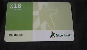 SINGAPORE Phonecard - Starhub Communications - USED NO VALUE