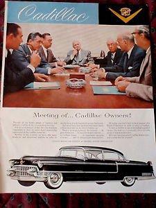 CADILLAC Advertisement Holiday Magazine 1950s