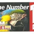 UK Avalon IDT Phonecard Macaw - USED / NO AIRTIME