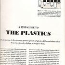 A 1950s GUIDE TO THE PLASTICS