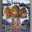 Age of Empires II Age of Kings / Conquerers Microsoft Instruction Manual 2000