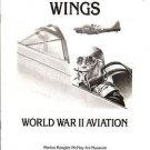 WINGS - WORLD WAR II AVIATION - McNay Museum Exhibit Catalogue 1992