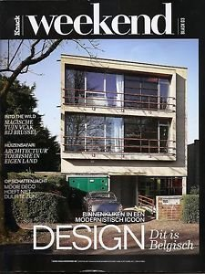 KNACK WEEKEND Magazine BELGIUM - DESIGN ISSUE Architecture Interiors April 2017