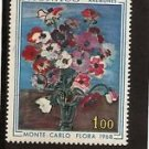MONACO Monte Carlo Flower Show 1968 MNH Scott 683 Yvert 743