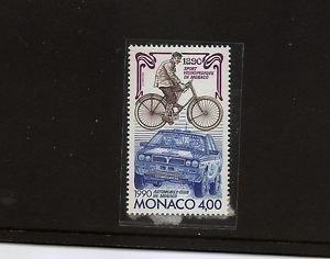 MONACO Auto Club Bicycle races 1990 MNH Scott 1713