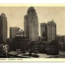POSTCARD - USA - DETROIT - Downtown buildings - 1930s??