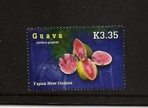 PAPUA NEW GUINEA Guava Fruit  Scott 1244