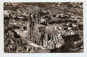 POSTCARD Chartres Cathedral FRANCE 1950s?