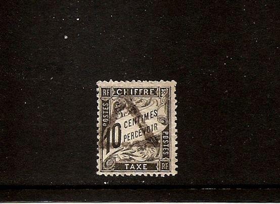 FRANCE - Postage Due Taxe Scott J16 Yvert 15 Used