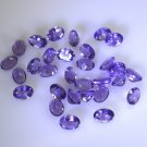 Amethyst loose Stone 1 Pieces 5 x 7 mm Oval Purple faceted Gemstone