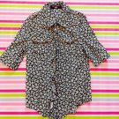 Liz Lisa Doll Black Floral Shirt Size S Perfect for School