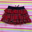 Liz Lisa Tralala Red Black Tartan Mini Skirt Size S Japanese Fashion