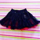 Mad Girl Black Red Gothic Lolita Punk Skirt Size S